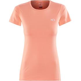 Kari Traa Nora - Camiseta manga corta Mujer - naranja